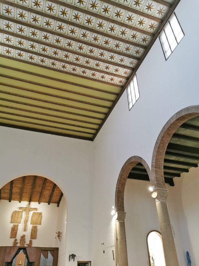 loft in legno chiesa